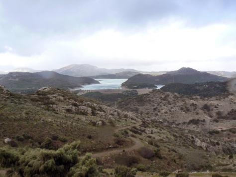 Pantano del Guadalhorce.