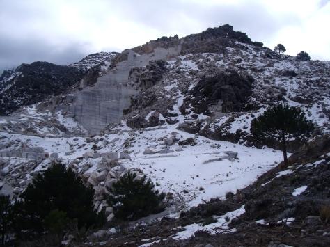 Vista de la Cantera.