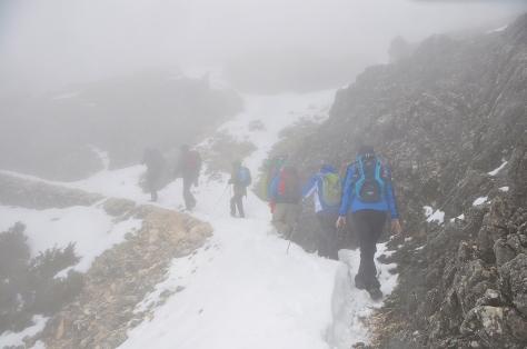 Travesía por el Cerro de la Venta Panaderos.