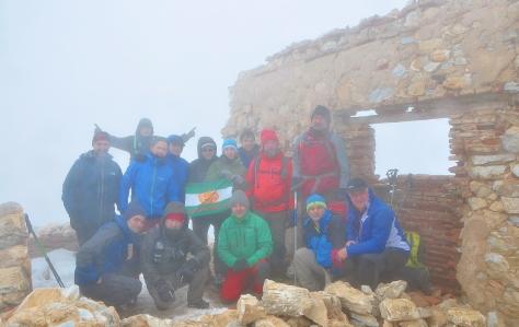 Otra foto del Grupo en la cima.