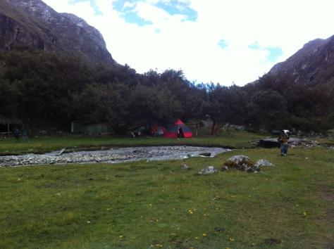 Campamento en Cebollapampa (3.900 metros).
