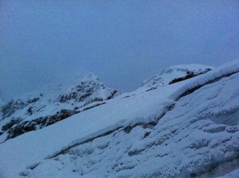 Entrada al Glaciar.