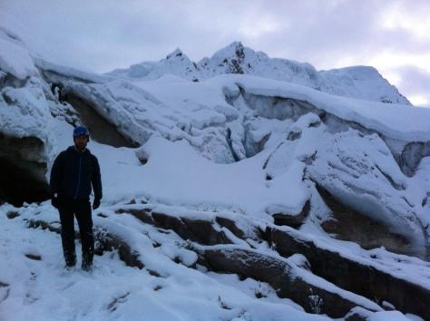 Glaciar y Nevado Pisco.