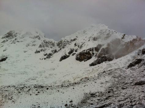 Glaciar de los Huandoys.
