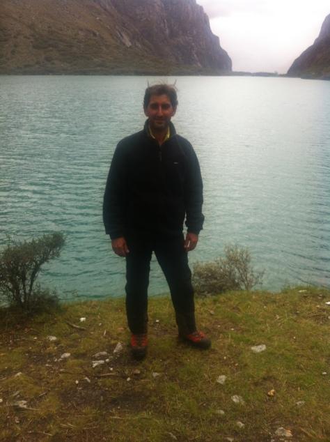 Laguna de Llanganuco.
