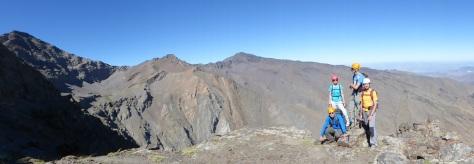 Panorámica de Sierra Nevada.