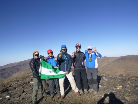 Otra foto en Cerro Pelado (3.182 mts).