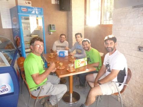 Desayunando en Güejar Sierra