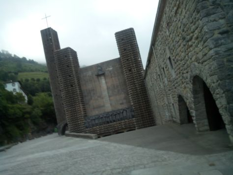 Santuario de Aranzazu.