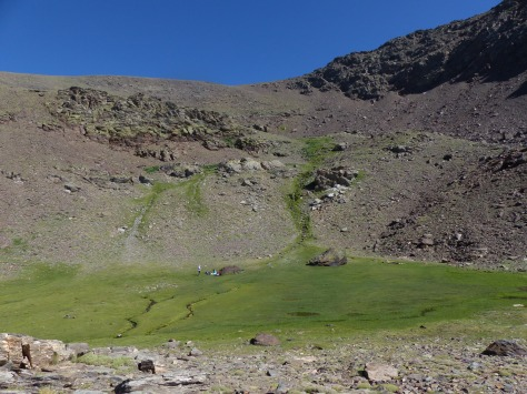 Campo Base (2.700 mts).