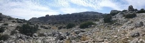 Panorámica del Torcal.