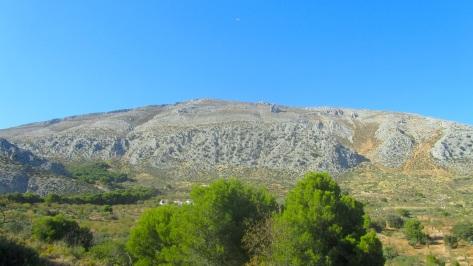 Vistas de la Sierra de la Huma.