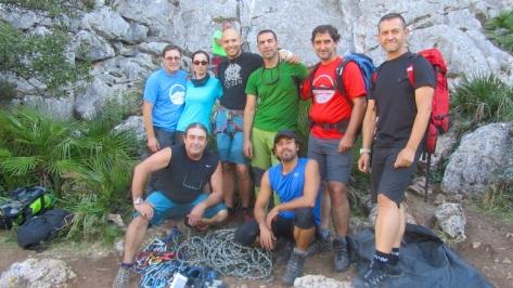 Foto del grupo tras finalizar el curso.