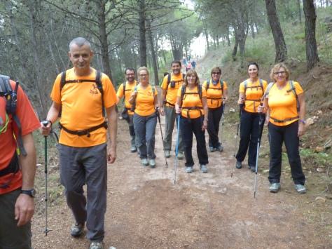Grupo del Club Camaleón Verde.