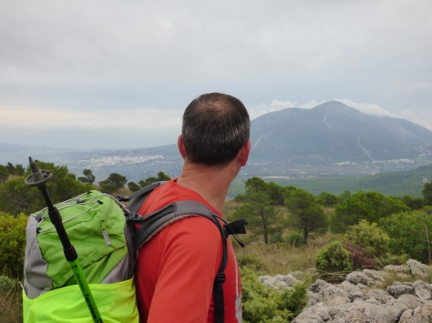 Fermín y la Sierra de Mijas.