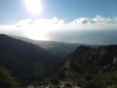 Vistas de Marbella.