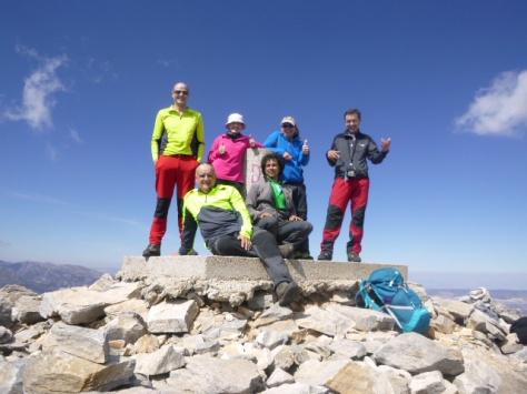 Cumbre del Navachica.