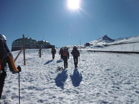 En la Hoya de la Mora en dirección al Observatorio.