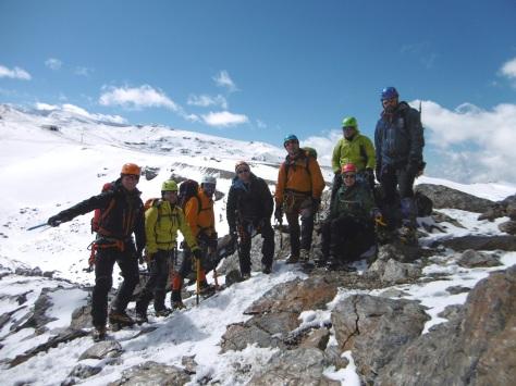 Otra foto del grupo al finalizar esta jornada.