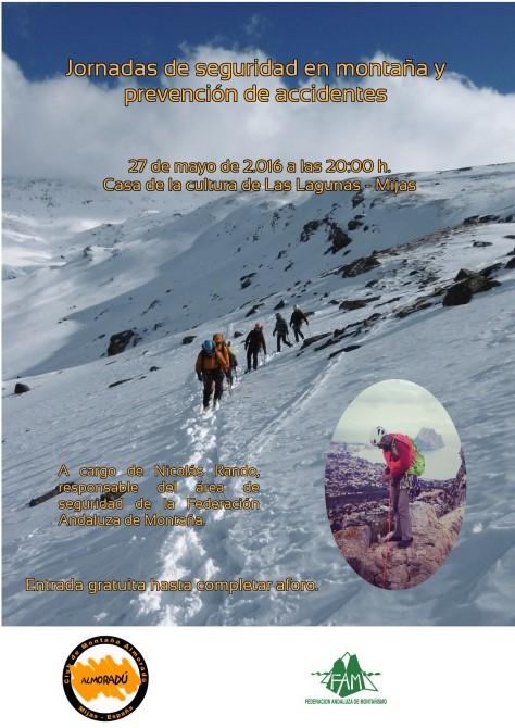 Jornadas de seguridad en montaña 2016 prueba 2