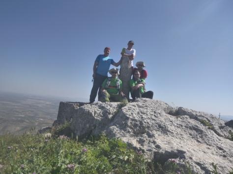 Coronación del pico (1.366 m)