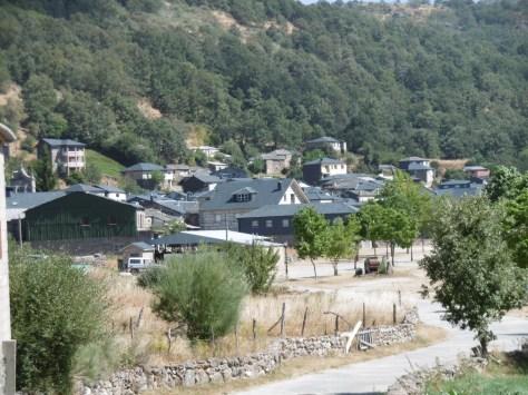 Vista del pequeño pueblo de Porto.