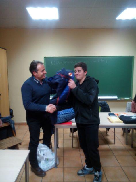 """Javier García, Premio """"Ochomiles con Encanto"""""""